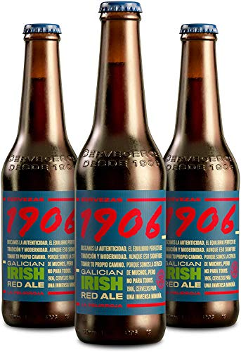 1906 GALICIAN IRISH RED ALE PACK 24 BOTELLAS DE 33 CL