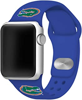 AFFINITY BANDS Florida Gators Silicone Watch Band Compatible with Apple Watch (38/40mm) - Licensed NCAA Watch Band