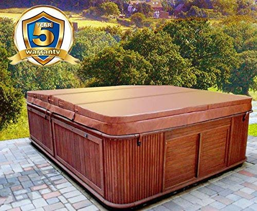MySpaCover Hot Tub Cover, Fits Any Shape Any Size Up To 96″ – 5-inch taper