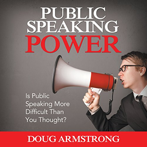 Public Speaking Power audiobook cover art
