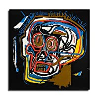 ジャン・ミシェル・バスキアポスター、グラフィティアールヌーボーアートパネル絵画フォトフレーム印刷ダンフレーム印象派ヨーロッパ壁壁紙壁画美術-50 (40x40cm,額装)