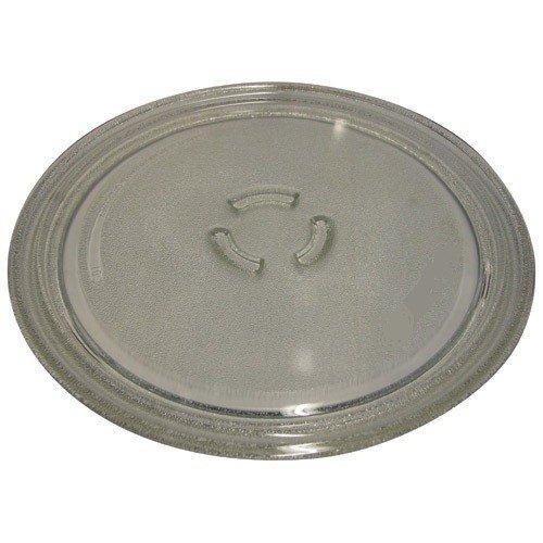 Tablett Glas Micro Wellen 28cm für Mikrowelle Sanyo und Fisher–481246678407