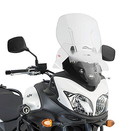 Motorrad Windschutzscheibe Suzuki DL650 V-Strom 12-16 Givi Airflow verstellbar