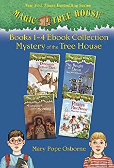 Magic Tree House Books 1-4 Ebook Collection: Mystery of the Tree House (Magic Tree House (R) 1) by [Mary Pope Osborne, Sal Murdocca]