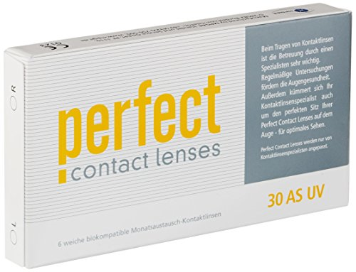 Perfect 30 AS UV Monatslinsen weich, 6 Stück / BC 8.60 mm / DIA 14.20 mm / -7.5 Dioptrien
