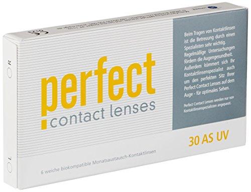 Perfect 30 AS UV Monatslinsen weich, 6 Stück / BC 8.60 mm / DIA 14.20 mm / -6.5 Dioptrien