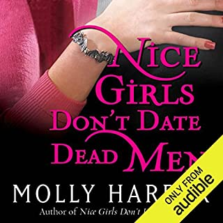 Nice Girls Don't Date Dead Men audiobook cover art