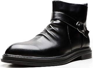 Black Men`s Loafers and Slip On丨Luxury Tassel Mens Dress Shoes & Elegant Casual Boat Shoes Size 7-13