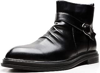 Black Men's Loafers and Slip On丨Luxury Tassel Mens Dress Shoes & Elegant Casual Boat Shoes Size 7-13