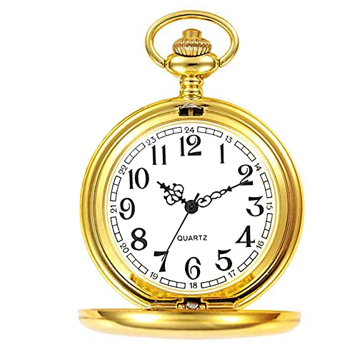 orologio da taschino oro Orologio da tasca con catena