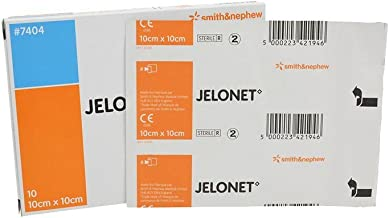 Jelonet Paraffin Gauze Dressing - 10cm x 10cm (x10)