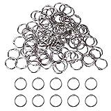 CZ Store®- anillas de encuadernación|100UDS+25MM+25MM|✮✮GARANTÍA DE POR VIDA✮✮- anillas de metal para libros/cuadernos/scrapbooks/anillas articuladas/ para la escuela/ hbbies creativos