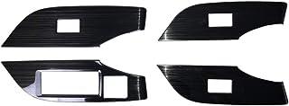 サムライプロデュース トヨタ RAV4 50系 ウィンドウスイッチ インテリアパネル 4P ブラックヘアライン
