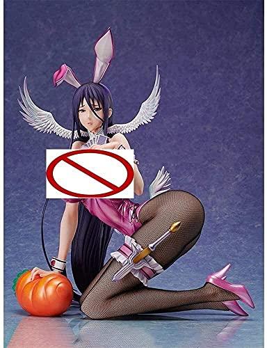 29cm Girl Figurine Figure Figure Toy 1/4 Scale Pure White Magical Girl RAITA Misa Suzuhara Bunny Ver. Binding Native Anime Figure Desktop Decoration