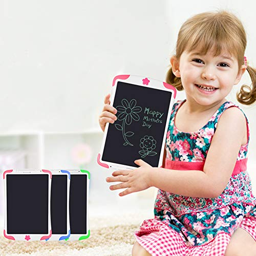good01 10-Zoll-LCD-E-Writing Board, Kinder Pädagogische Digitale Zeichenblock, Tablet Graffiti Blau