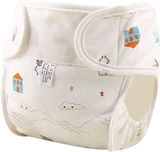 Pañal impermeable reutilizable para bebés,pañal de algod