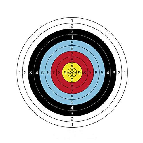 10 pcs Bogensport Zielscheibe, Bogen Bogenschießen Ziel, Bogenschießscheibe Training für im Freienpraxis Bogenschießen-Bogen und Schießenpfeil