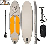 Vilano Navigator 10' (6' Thick) Inflatable SUP Stand Up Paddle Board...