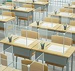 Mampara De Protección, Marco De Protección De Partición De Escritorio Escolar De Oficina Creativa DI... #1