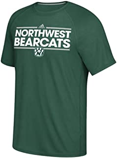 adidas Northwest Missouri State Bearcats NCAA Men's Dark Green Dassler Ultimate Tee Climalite T-Shirt