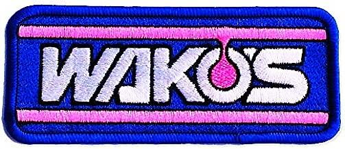 WAKO'Sワッペン SW-05 ワコーズ W125サイズ 縫付けタイプ アイロン圧着シート無し