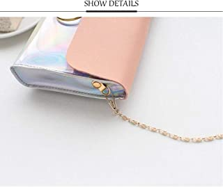 Laser Crossbody Bag For Women Chain Mini Shoulder Bag Circle Small Messenger Bag Womens Handbags And Purses Evening Clutch...