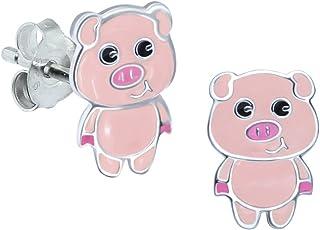 CUHAWUDBA /éPingle en /éMail Bout /à Bout De Cochon Rose Broche De Badge pour Sac Chemise en Jean Animation Rose