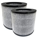 Nispira 3-in-1 True HEPA Filter Replacement Compatible with Bissell Personal Air Purifier 2780A, Myair, Compared to Part 2801. 2 Pack