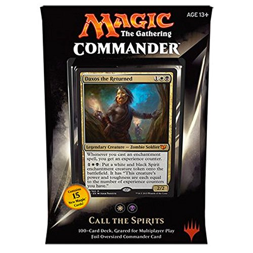 MTG Commander 2015 Edition Magic the Gathering - Call the Spirits White Black Deck New Sealed by Magic: the Gathering