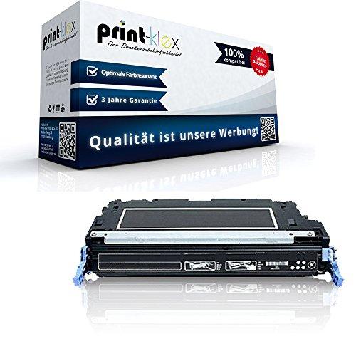 Print-Klex Kompatible Tonerkartusche für HP Color LaserJet 3800 DTN Color LaserJet 3800 N Color LaserJet 3800 Series Q6470 A Schwarz