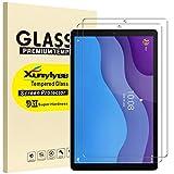 XunyLyee [2 Piezas] Compatible Con Lenovo Tab M10 HD (2nd Gen) Protector de Pantalla, 2.5D Vidrio Templado Glass Film Protector de Pantalla para Lenovo Tab M10 HD (2nd Gen) 10.1' TB-X306F /TB-X306X