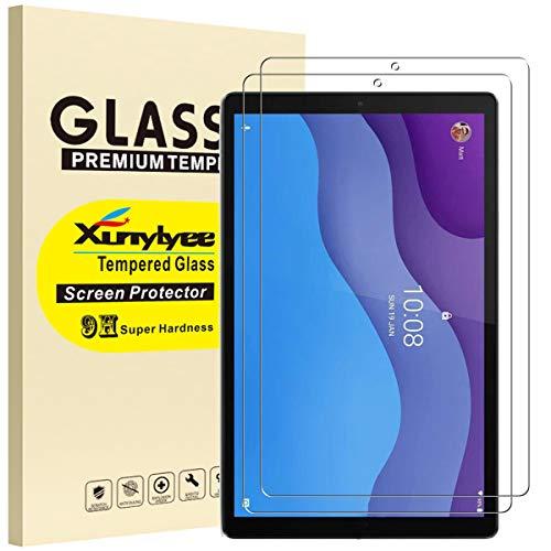 XunyLyee [2 Pack] Compatibile Con Lenovo Tab M10 HD (2nd Gen) Pellicola Protettiva, 2,5D Vetro Temperato Pellicola per Lenovo Tab M10 HD (2nd Gen) 10.1  TB-X306F  TB-X306X