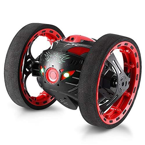 Rechargeable Turbo 360 Twister RC Radio Télécommande Stunt Voiture Feu Clignotant