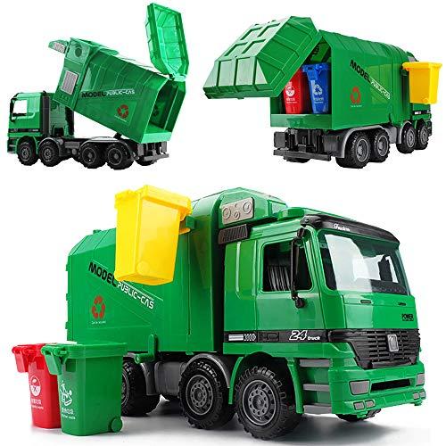deAO Camión Contenedor con Función Hidráulica para Elevar
