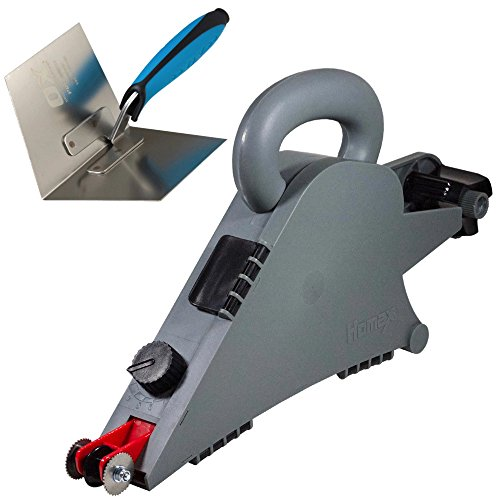 Homax 6500 Remodeler's Drywall Banjo Taping Tool - Apply Sheet-rock Mud and Tape Simultaneously (Banjo + Corner Trowel)