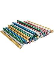 Universele lijmpatronen | lijmpistolen voor grote lijmpistolen | hete lijmsticks | Ø 11 mm | 20 cm lang | 50 stuks