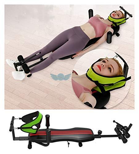Youpin Tumbado de la pierna plana de la espalda del cuello cuello cervical dispositivo de tracción del dolor terapia de ejercicio banco de inversión botas mesa innovadora camilla