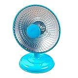 JXILY 220V 200W Portable Office Mini Calentador del Calor Rápido Eléctrico Calentador Eléctrico Principal del Ventilador del Calentador Práctico Aire Más Caliente Silenciosa del Calentador,Azul
