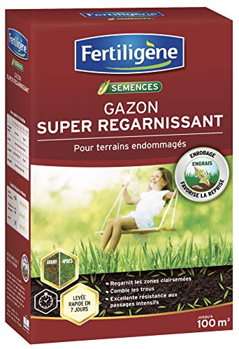 Fertiligene Gazon Super Regarnissant, 100m²