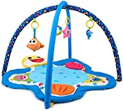 WowWee Pinkfong Baby Shark Deluxe Undersea Baby Activity Mat – Infant Play Mat for Toddlers Includes 10+ Activities and Sounds – Multi-Sensory Toy