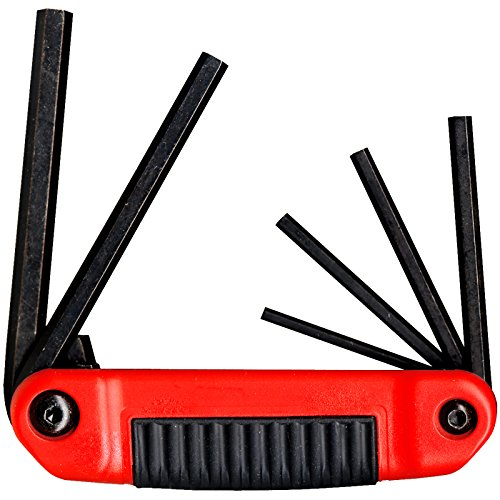 EKLIND 25611 Ergo-Fold Fold-up Hex Key allen wrench - 6pc set SAE Inch Sizes 5/32-3/8