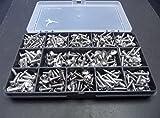 Box von 3208Nr. 6sortiert & 10A2–70Edelstahl Flansch Pozi Kopf selbstschneidenden/Trim Schrauben