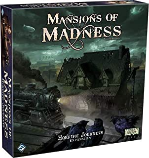 FFG MAD27 Mansions of Madness: Horrific Journeys Expansion, One Size