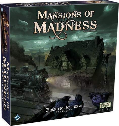 Fantasy Flight Games FFGMAD27 Mansions of Madness 2. Edition: Horrific Journeys Expansion