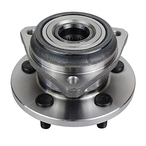 Autoround Front Wheel Hub and Bearing Assembly 513084 fit for Jeep Wrangler, Grand Cherokee, Cherokee, TJ, Comanche, Wagoneer 5 Lug