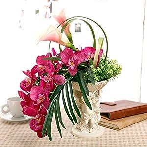 LLPXCC Flores artificiales Creativo casa floral mesa de comedor sala de estar de estilo europeo moderno sencillo y…