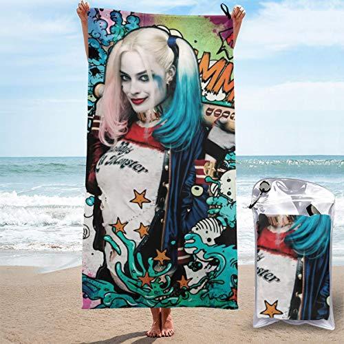 51VN698zZUL Harley Quinn Bath Towels
