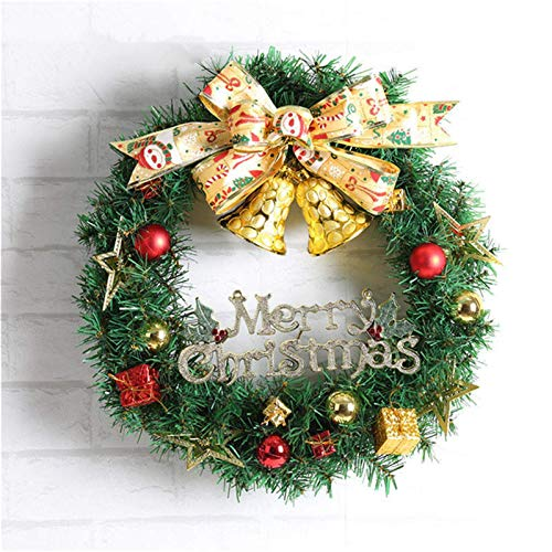 Cotton Christmas SocksChristmas Party Home Decoration 30cm Wreath Rattan Pendant Toys For Kids Children Giftwarm Christmas Socks (Size:Small; Color:001)