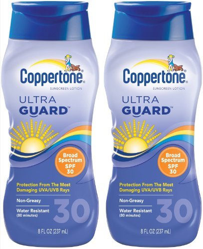 Coppertone ultraGUARD Lotion SPF 30 Memphis Mall Sunscreen-8 Co oz 2 store pack by