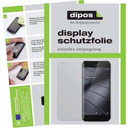 dipos I 6X Schutzfolie matt kompatibel mit Gigaset ME Folie Bildschirmschutzfolie (3X Vorder- und 3X Rückseite)